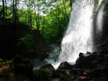 Anna-vízesés és barlang Lillafüred