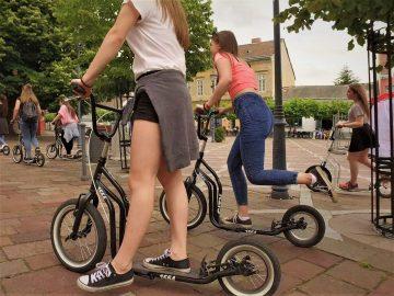 Kickbike-os városnézés Keszthely