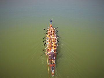 Sárkányhajózás Velencei-tó