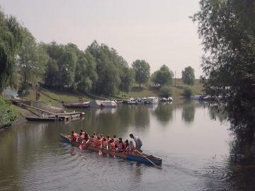 Sárkányhajózás Szeged