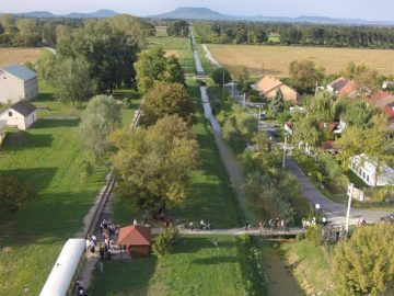 Balaton Nagyberek zöld utakon