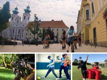 Legújabb győri kétnapos osztálykirándulás kickbike-os városnézéssel
