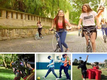 Pécsi egynapos osztálykirándulás kickbike-os városnézéssel