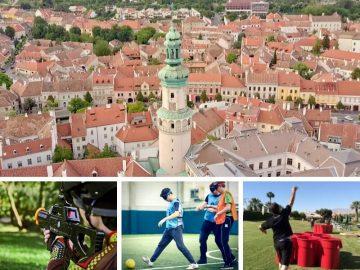 Soproni egynapos osztálykirándulás városfelfedező sétával