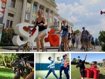 Szegedi egynapos osztálykirándulás kickbike-os városnézéssel