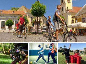 Szentendrei egynapos osztálykirándulás kickbike-os városnézéssel