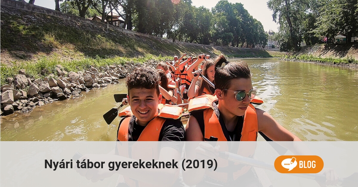Nyári tábor gyerekeknek 2019-ben