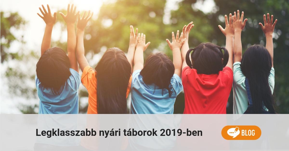nyári táborok 2019