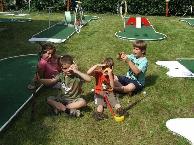 Minigolf pálya Hajdúszoboszló