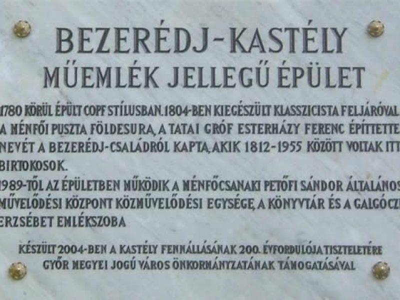 Bezerédj Kastély Győr