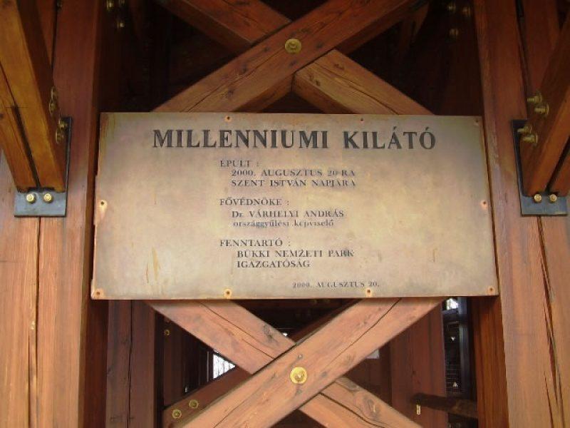 Milleniumi Kilátó Szilvásvárad