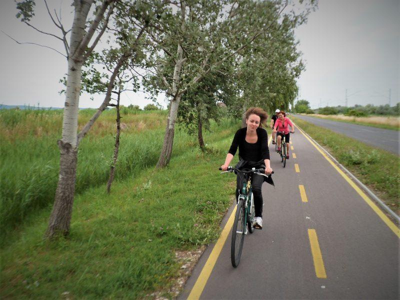 Kerékpárral Agárdról Székesfehérvárra