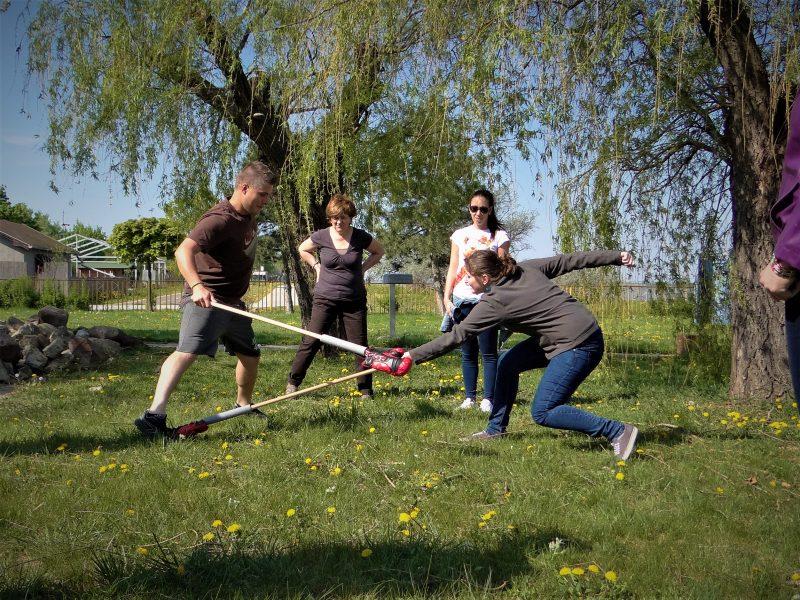 Csapatépítő ügyességi játék Balatonboglár
