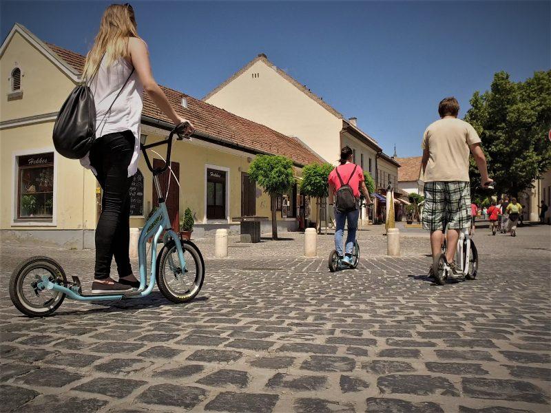 Kickbike-os városnézés Debrecen