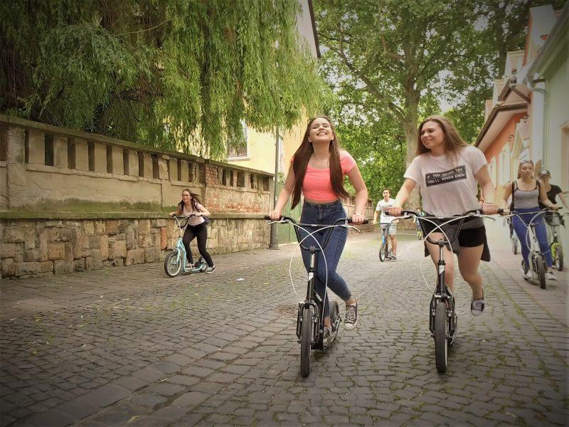 Kickbike-os városnézés Velencei-tó