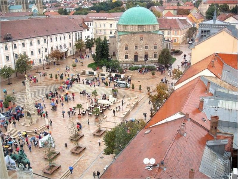Pécs-Harkány kétnapos osztálykirándulás wellness-szel