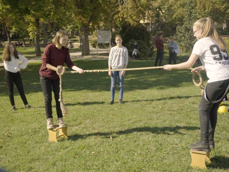 Csapatépítő ügyességi játék Debrecen