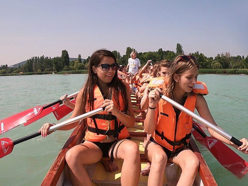 Sárkányhajózás Balatonfüred