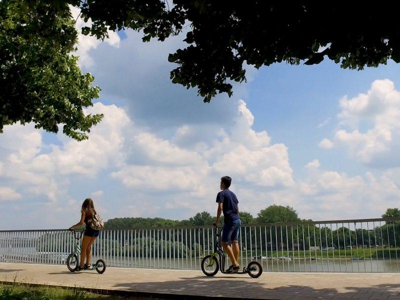 Kickbike-os városnézés Szeged