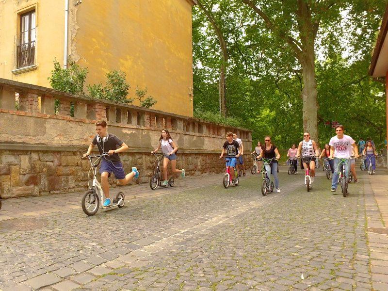 Legújabb soproni kétnapos osztálykirándulás kickbike-os városnézéssel