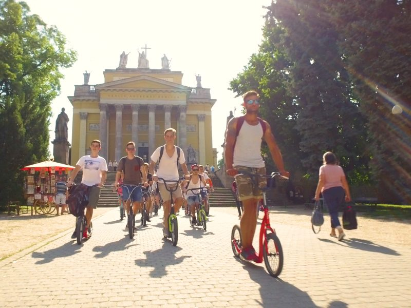 Egri egynapos osztálykirándulás kickbike-os városnézéssel