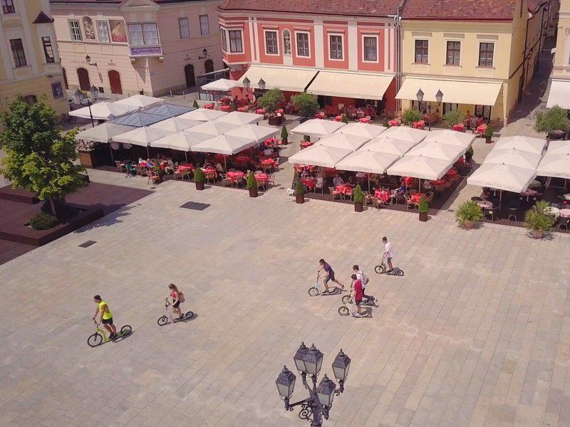 Győri kétnapos osztálykirándulás kickbike-os városnézéssel