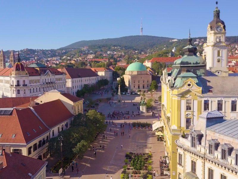 Pécsi egynapos osztálykirándulás városfelfedező sétával