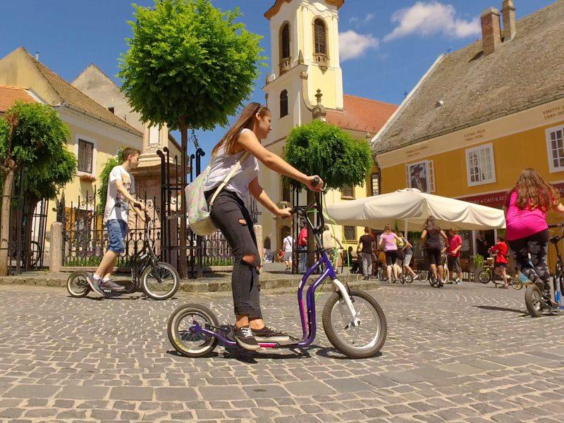 Esztergom-Szentendre kétnapos osztálykirándulás kickbike-os városnézéssel esztergomi szálláshellyel