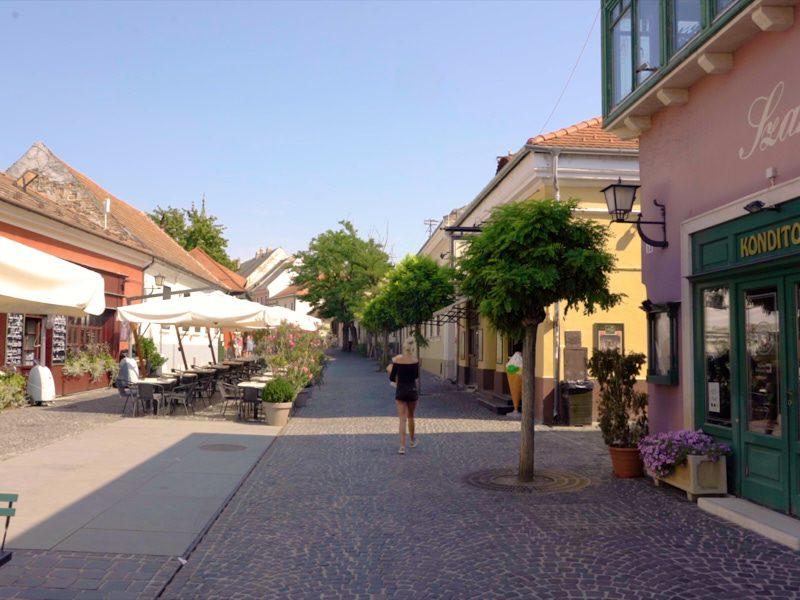 Szentendrei egynapos osztálykirándulás városfelfedező sétával