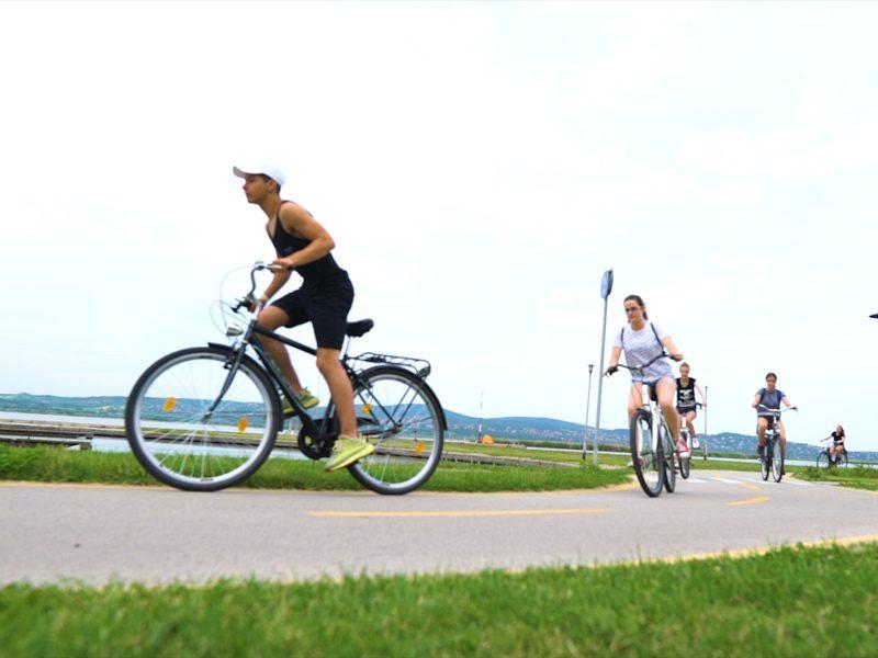 Két nap a Velencei-tónál, közben tókerülés kerékpárral