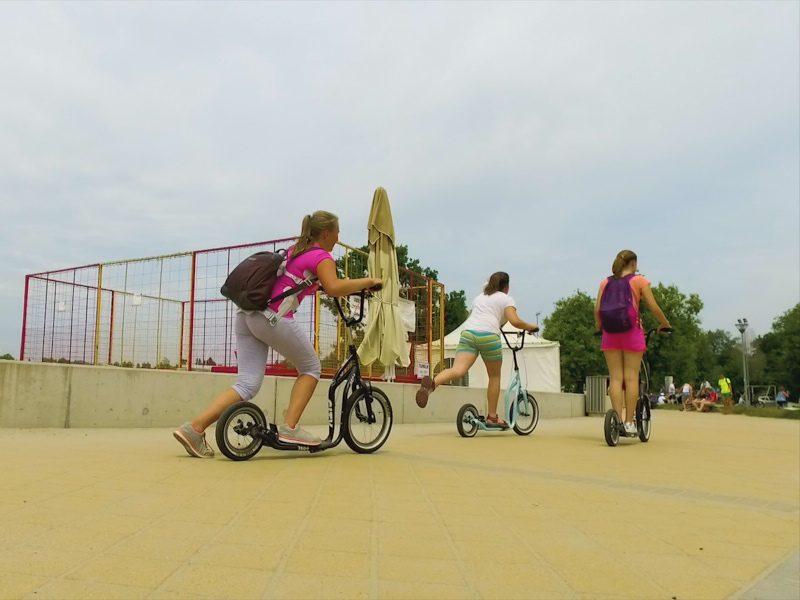 Legújabb velencei-tavi egynapos osztálykirándulás kickbike-os városnézéssel