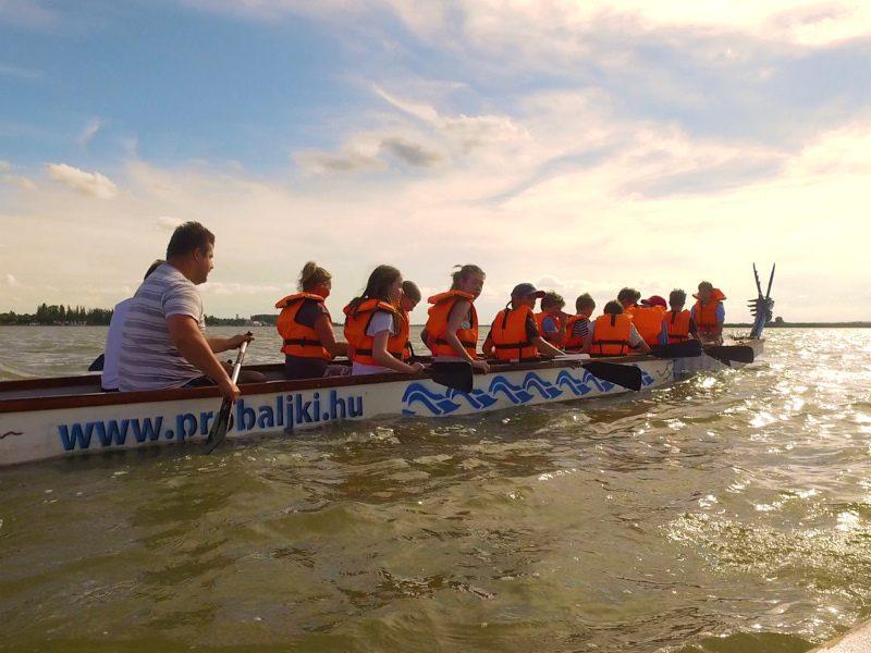 Két nap aktívan a Velencei-tónál