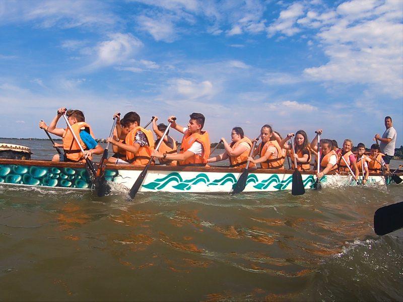 Bringás kaland a Velencei-tó körül