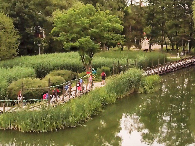 Legújabb veszprémi egynapos osztálykirándulás kickbike-os városnézéssel