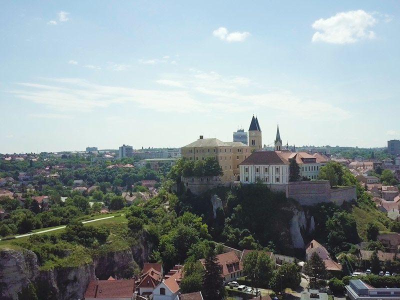 Veszprémi egynapos osztálykirándulás kickbike-os városnézéssel
