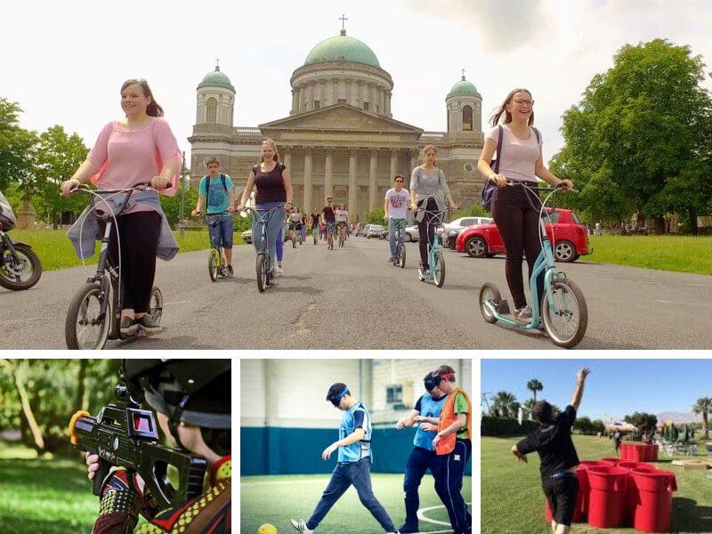 Legújabb esztergomi egynapos osztálykirándulás kickbike-os városnézéssel