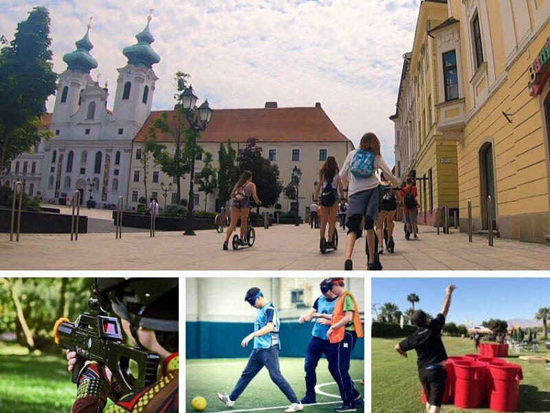 Legújabb győri egynapos osztálykirándulás kickbike-os városnézéssel