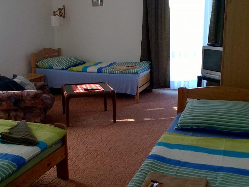 9501-es vendégház Cserkút