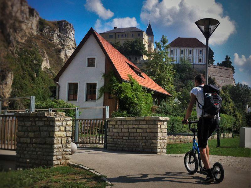 Kickbike-os városnézés Szentendre