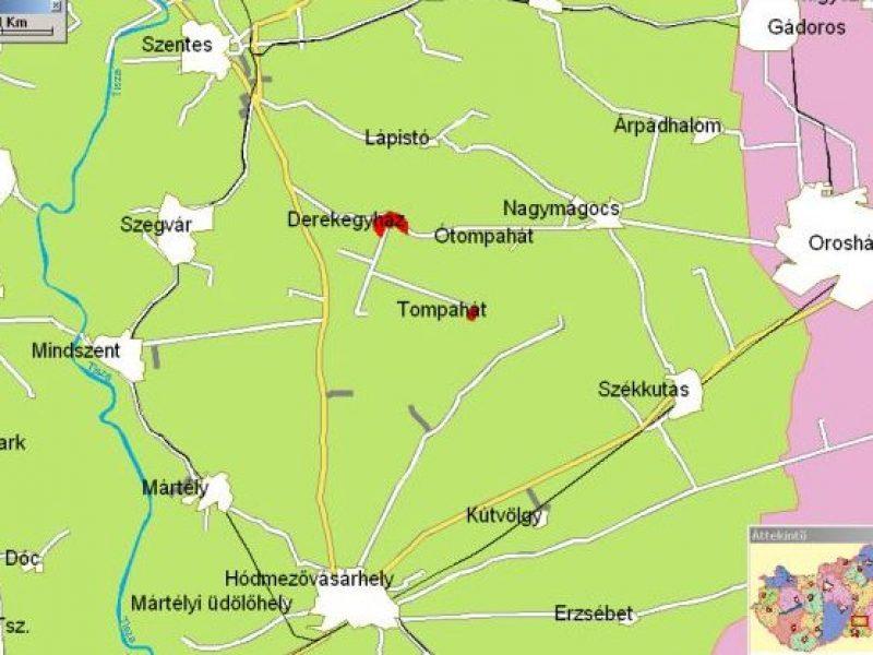 9477-es Ifjúsági szállás Derekegyház